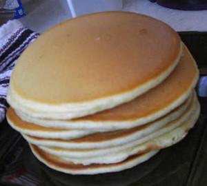 Dutch Oven Pancakes